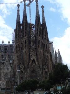 バルセロナのサクラダファミリア